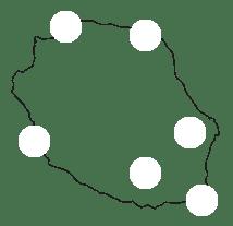 Carte des partenaires Volay Péi
